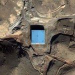 2007-09-06 - Suspected site of Israeli strike on Syrian nuke base (Bing Maps)