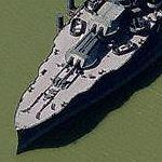 USS Texas (BB-35) (Bing Maps)