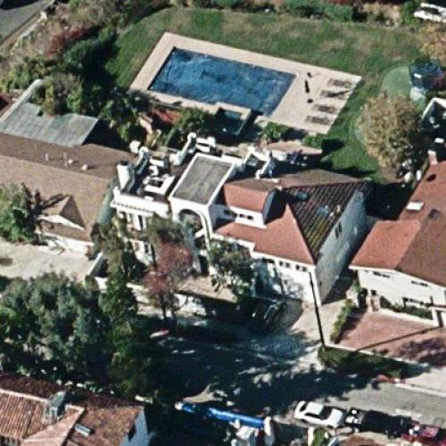 Carson Daly's House (Birds Eye)