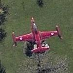 Canadair T-133 Silver Star (Red Knight) (Birds Eye)