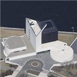 'John F. Kennedy Presidential Library' by I. M. Pei (Birds Eye)