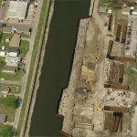 Ongoing Levee Repairs along the 17th Street Canal (Birds Eye)