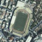 Case of the disappearing stadium (Bing Maps)