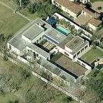 Hakeem Olajuwon's House (Birds Eye)
