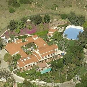 Olivia Newton-John's House (former) (Birds Eye)