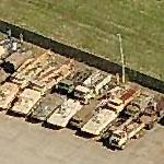 Eastern bloc armor and missile launchers at the Aberdeen Proving Grounds