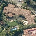 Christina Aguilera's house (Birds Eye)