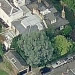 Kate Moss' London house (Birds Eye)