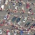 Rooftop Car-Boot Sale (Birds Eye)