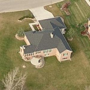 Aaron Rodgers' House (Birds Eye)