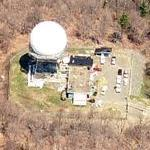 FAA Cummington Surveillance Radar Dome (Birds Eye)