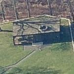 Philip Johnson's Glass House (Birds Eye)