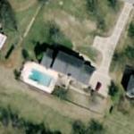 Steve Gatlin's House (Bing Maps)