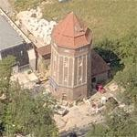 Water tower Stuttgart - Degerloch (Birds Eye)