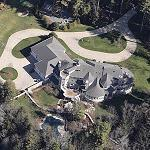 Curt Schilling's House (Birds Eye)