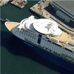 'M/S Color Fantasy' - world's largest cruise ship with a car deck