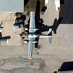 """Hard To Get"" A-26 Invader at Greater Rockford Airport (Bing Maps)"