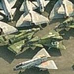 Saab 37 'Viggen' boneyard (Birds Eye)