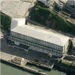 Alcatraz - Barracks/apartments (Birds Eye)