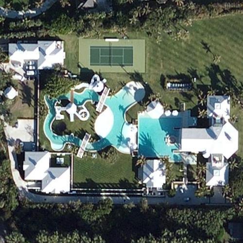 Celine dion 39 s house in jupiter island fl google maps 2 Celine dion florida