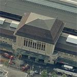 Lausanne central station (Birds Eye)