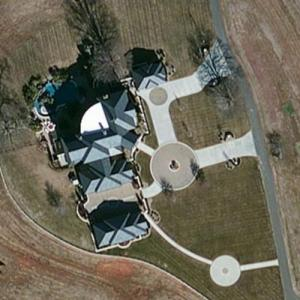 Dale Earnhardt Jr.'s House (Bing Maps)
