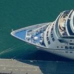 "Oceania Cruise Lines ship ""Regatta"" (Birds Eye)"