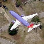 On approach to William P. Hobby Airport