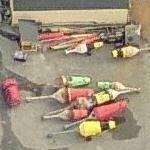 Ocean buoy yard