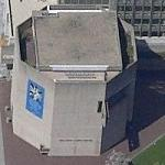 'Third Church of Christ, Scientist' by I.M. Pei (Birds Eye)