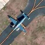Naval Lockheed PV-1 Ventura on Taxiway (Bing Maps)