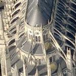Bourges Cathedral (Bing Maps)