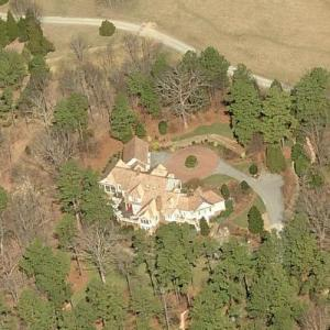 Mike Krzyzewski's House (Birds Eye)