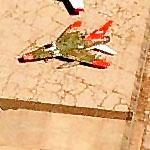 F-100 Super Sabre at Amarillo International