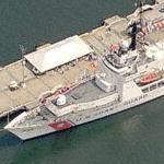 USCGC Gallatin (WHEC-721) (Birds Eye)