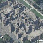 Baths of Caracalla (Bing Maps)