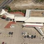 Boeing 727-22C converted into Cooper T's Restaurant (Birds Eye)