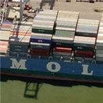 P-Class container ship M/V Mol Partner