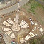 Water Tower Under Construction (Birds Eye)