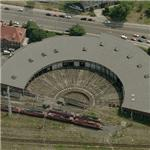 Halle Train Museum (Birds Eye)