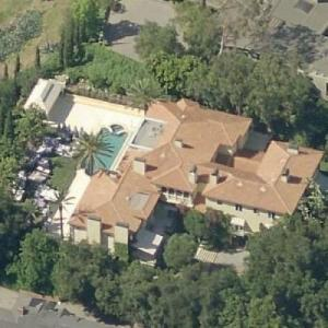 Wolfgang Puck's house (Birds Eye)
