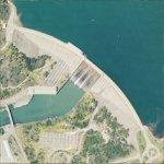 Shasta Dam (Bing Maps)