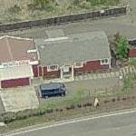 """D. B. Cooper's"" House? (former) (Birds Eye)"