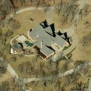 Rex Tillerson's house (Birds Eye)