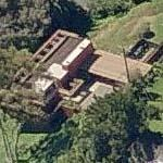 'Sturges House' by Frank Lloyd Wright (Birds Eye)