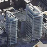 '173/176 Perry St' by Richard Meier (Birds Eye)