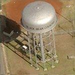 'Black Bear Country' Water Tower (Birds Eye)
