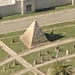 Milliam M Gwin Pyramid Mausoleum