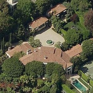 Bill Guthy & Victoria Jackson's house (formerly Cary Grant's & Buster Keatons's) (Birds Eye)