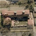 Frank Lloyd Wright's Allen-Lambe House (Birds Eye)